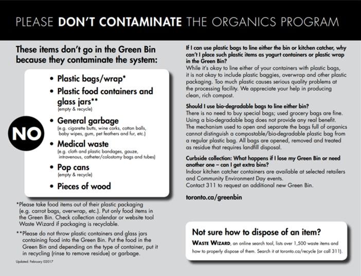 Green Bin Information 2